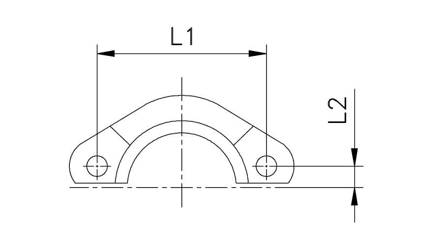 Скоба для фланца SFL